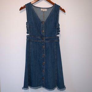 PacSun Denim Dress (S)